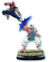 Street Fighter: Gouken vs Akuma Diorama Statue