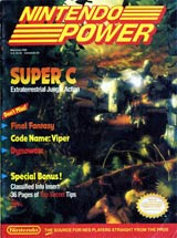 Nintendo Power Volume 12 Super C