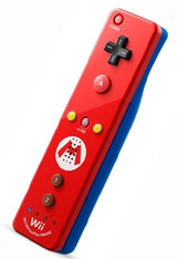 Nintendo Wii Remote Plus Mario Limited Edition