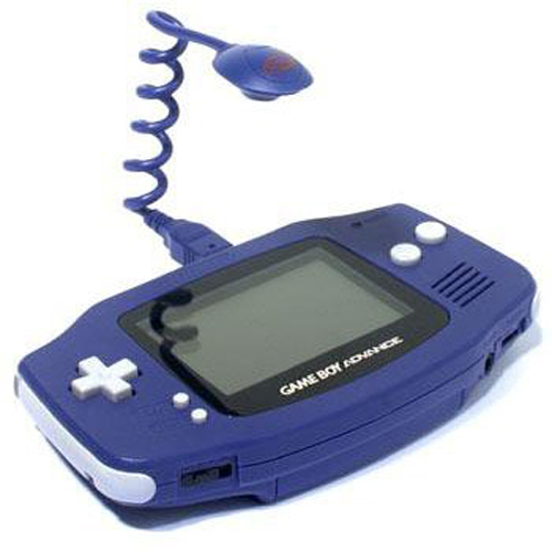 Game Boy Advance Worm Light