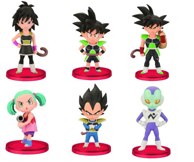 DBZ World Collectible Figures Volume 0