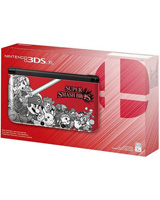 Nintendo 3DS XL System Super Smash Bros. Red Edition