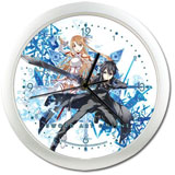 Sword Art Online: Asuna and Kirito Wall Clock