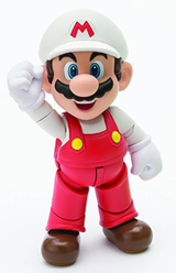 Super Mario Bros. Fire Mario S.H. Figuarts Action Figure