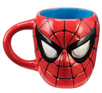 Marvel Spiderman 20oz Sculpted Ceramic Mug