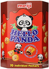 Hello Panda Chocolate Cream Filled Biscuits 9.1oz