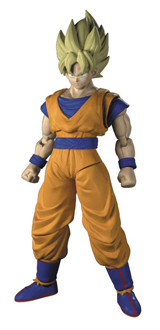Dragon Ball Z Super Saiyan Goku Rise 6 Inch Model Kit
