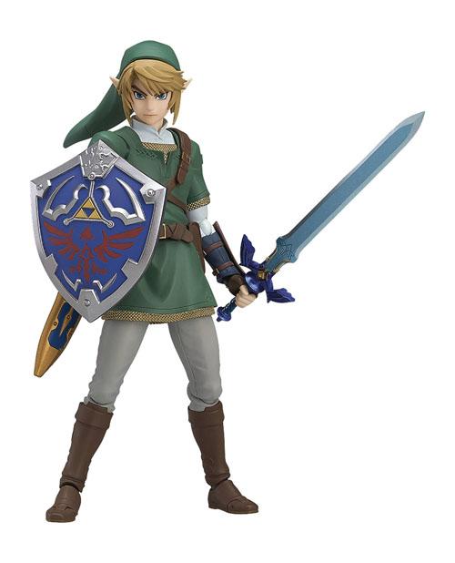 Legend of Zelda Twilight Princess Link Figma Action Figure