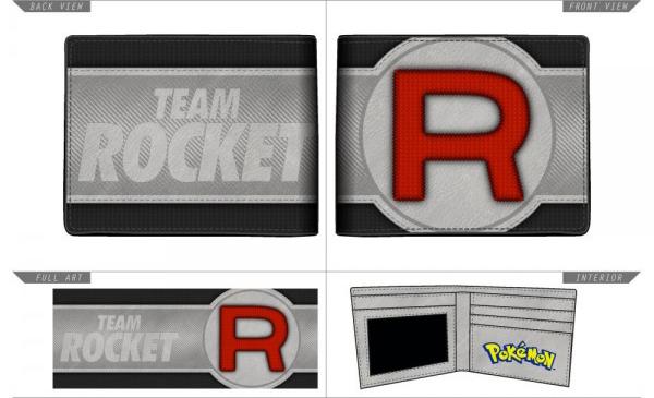 Pokemon Team Rocket Bi-Fold Wallet