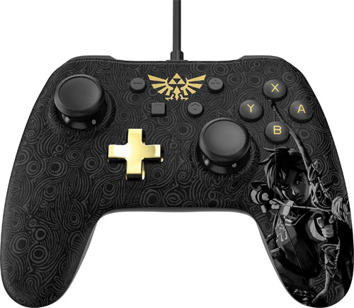 Nintendo Switch Wired Controller: Zelda Breath of the Wild