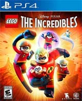 PS4 Lego The Incredibles Boxart