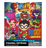 Teen Titans Go To The Movies Foam Keyrings BMB