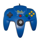 Nintendo 64 Pokemon Pikachu Light Blue Controller