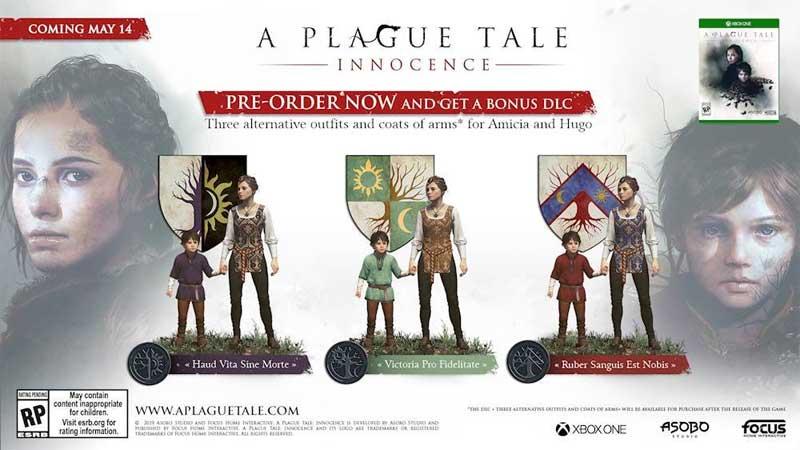 A Plague Tale Innocence Bonus DLC