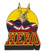 My Hero Academia All Might Lapel Pin