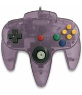 Nintendo 64 Controller Clear Purple by Teknogame