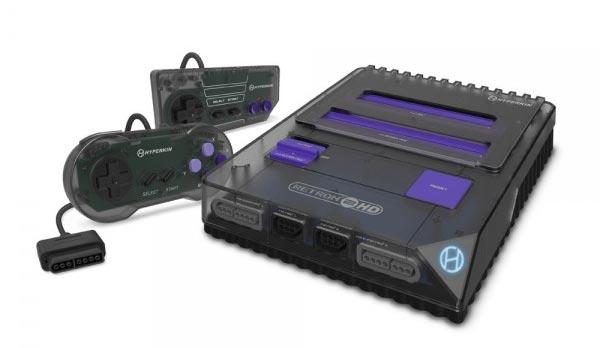 Retron 2 HD Console Space Black full console