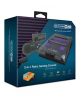 RetroN 2 HD 2-in-1 Retro Gaming Console Space Black