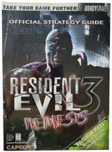Resident Evil 3: Nemesis Official Strategy Guide