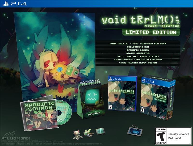 PS4 Void Terrarium LE all bonus items