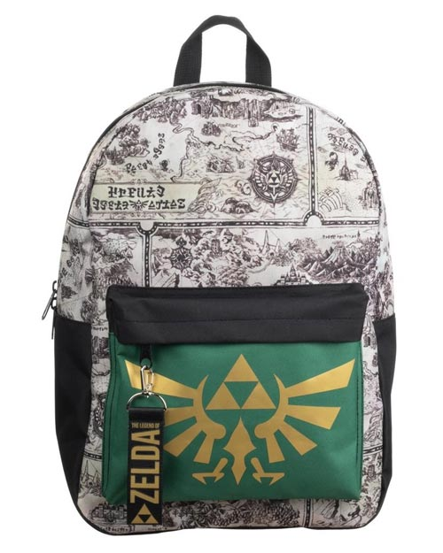 Legend of Zelda Hyrule Map Mixblock Backpack