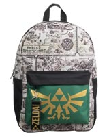 Legend of Zelda Hyrule Map Mixblock Backpack