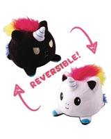 Teeturtle Reversible Light to Dark Rainbow Unicorn Mini Plush