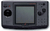 Neo Geo Pocket Color System Carbon Black Bundle w/ 6 Games