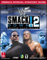 WWF Smackdown 2 Official Strategy Guide Book