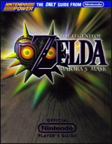 Legend of Zelda: Majora's Mask Official Nintendo Player's Guide Book