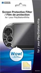 PlayStation Vita Hori Screen Protective Filter