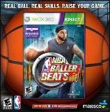 NBA Baller Beats w/ Basketball
