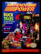 Nintendo Power Volume 8 Duck Tales