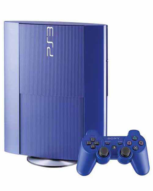Sony PlayStation 3 Super Slim 250GB Azurite Blue Limited Edition System Trade-In