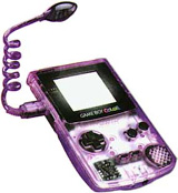Game Boy Color Worm Light