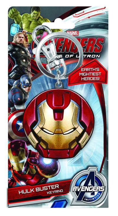 Avengers Keyring (Hulkbuster Face)