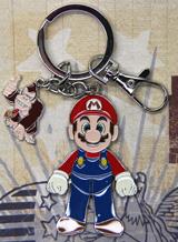 Nintendo Mario with Donkey Kong Keychain