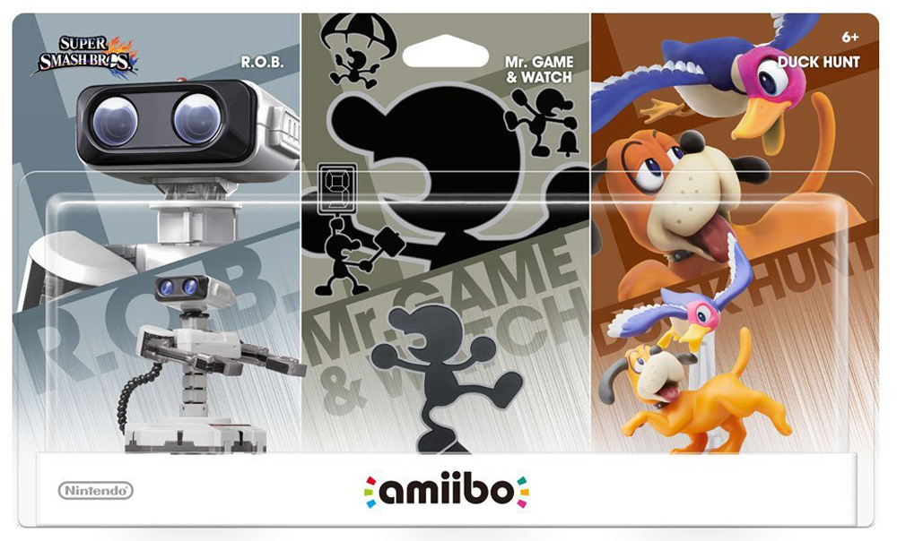 amiibo Retro 3 Pack Bundle