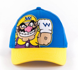 Nintendo Wario Blue Snapback Cap (Youth Sized)