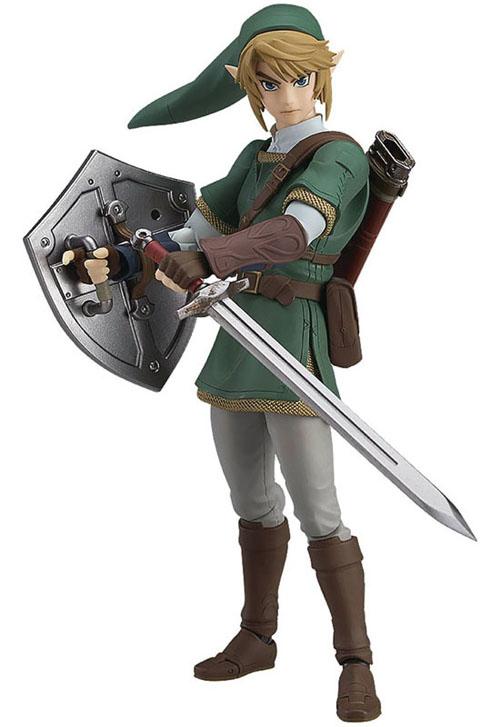 Legend of Zelda Twilight Princess Link Figma Deluxe Action Figure