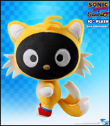 Sonic X Sanrio Tails & Chococat 10 inch Deluxe Plush