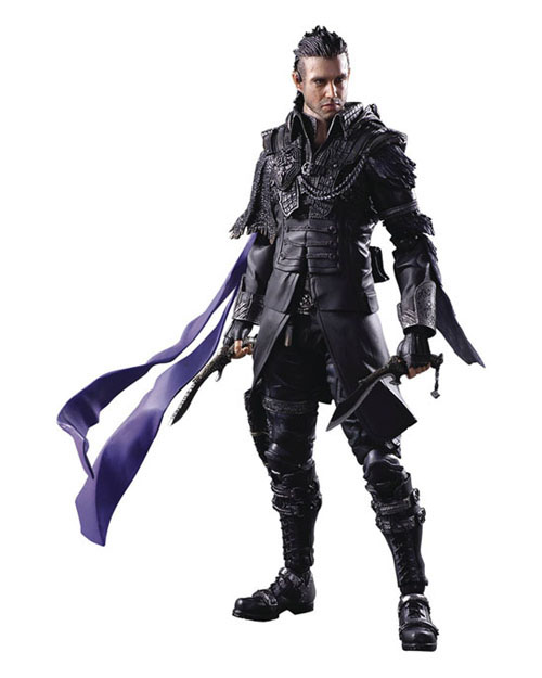 Final Fantasy XV Kingsglaive Play Arts Kai Nyx Ulric Action Figure