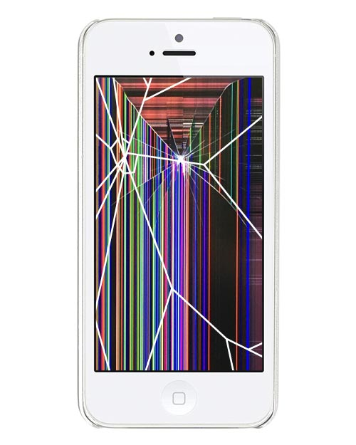 iPhone 5S Repairs: Glass & LCD Replacement Service White