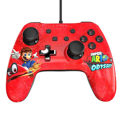 Nintendo Switch Wired Controller Plus: Super Mario Odyssey