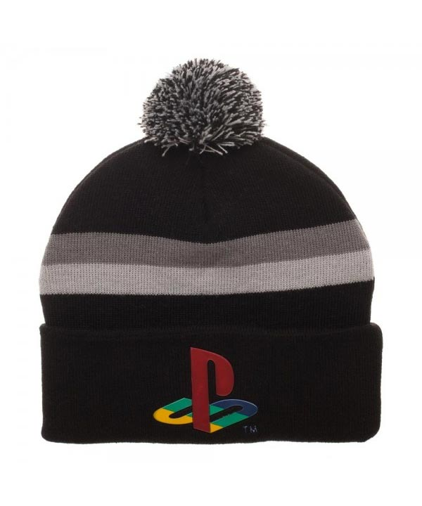 Playstation Logo Chrome Weld Acrylic Beanie