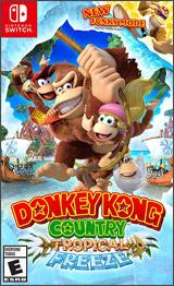 NSW Donkey Kong Country: Tropical Freeze Boxart