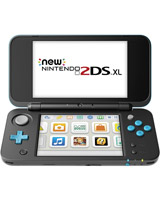 New Nintendo 2DS XL System Black + Turquoise