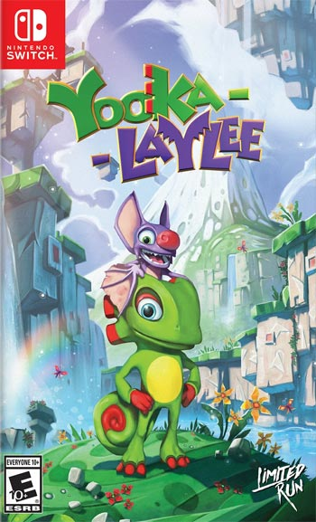 Switch Yooka Laylee alternate cover