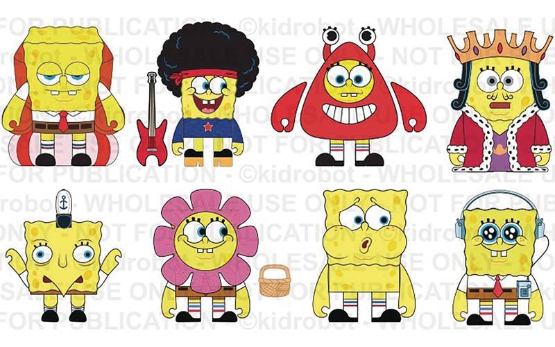 Calvacade of Spongebob BMB all items