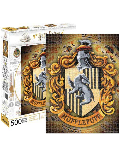 Harry Potter Hufflepuff 500 Piece Jigsaw Puzzle